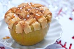 pieczone jabłko Fotografia Stock