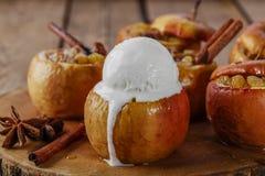 pieczone jabłko, Zdjęcie Stock