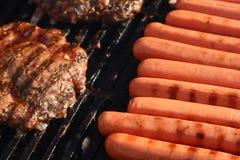 pieczone mięso obraz stock