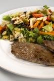 pieczone mięso warzywa Zdjęcia Royalty Free