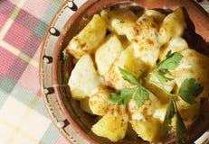pieczone ziemniaki Zdjęcie Stock