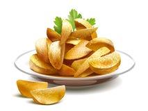 pieczone ziemniaki Fotografia Royalty Free