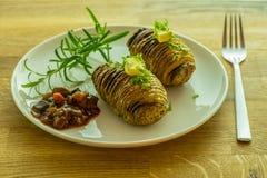 pieczone ziemniaki Zdjęcie Royalty Free