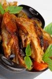 pieczonego kurczaka Zdjęcie Stock