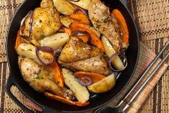 pieczonego kurczaka zdjęcia stock