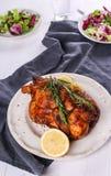 pieczonego kurczaka fotografia stock