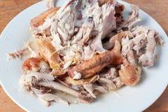 Pieczonego kurczaka ścierwo Zdjęcia Stock