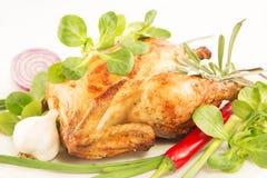 pieczonego kurczaka obraz stock