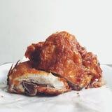 pieczony kurczak Obraz Stock