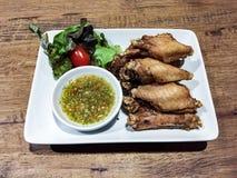 pieczony kurczak Fotografia Stock