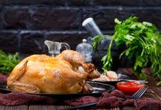 pieczony kurczak Zdjęcia Stock