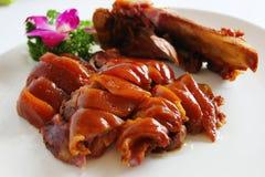 Pieczony mięso Zdjęcie Stock