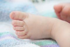 Pied d'enfant en bas âge Photographie stock