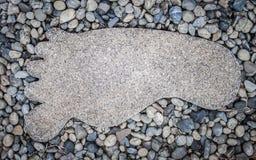 Pied de ciment Image stock