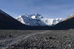 Pied du mont Everest Photos stock