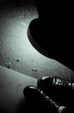 Pied et lumières Photos libres de droits