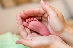 Pied nouveau-né Photo libre de droits