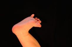 Piede del bambino Fotografia Stock Libera da Diritti