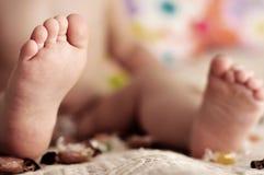 Piede del bambino Immagini Stock Libere da Diritti