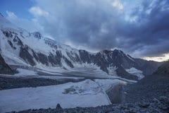 Piede della montagna di Belukha Altai, Russia Fotografia Stock