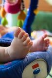 Piede di Babys Fotografie Stock Libere da Diritti