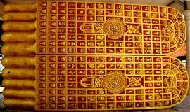 Piede di Buddha immagini stock