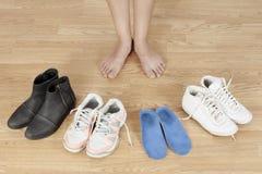 piedi Immagini Stock Libere da Diritti