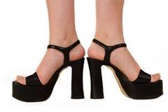 Piedi alla moda 1 Fotografie Stock Libere da Diritti