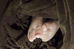 Piedi del bambino Fotografia Stock Libera da Diritti