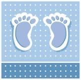 Piedi del neonato Immagini Stock