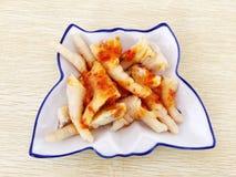 piedi del pollo del baiyun Immagini Stock
