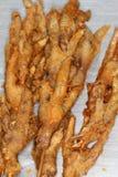 Piedi del pollo fritto Fotografia Stock