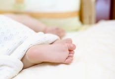 Piedi del `s del bambino Immagini Stock Libere da Diritti