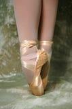 Piedi della ballerina Fotografia Stock