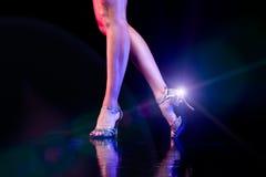Piedi di dancing. Immagini Stock