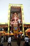 59 piedi di idolo d'altezza di Lord Ganesh Fotografia Stock Libera da Diritti
