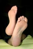 piedi di uomo Immagine Stock Libera da Diritti