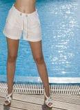 piedi femminili Fotografia Stock