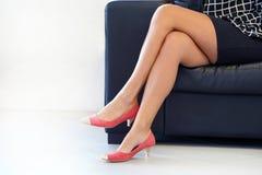 Immagine Alto A Stock Femminili In Rosse Tacco Bei Scarpe Piedi R8gn6nC