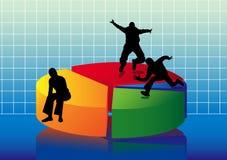 Piediagram Immagine Stock Libera da Diritti