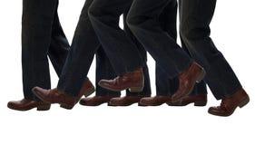 Piedini che camminano un passo avanti Immagine Stock
