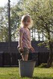 Piedini di lavaggio Fotografia Stock