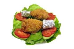 Piedini di pollo Fotografie Stock Libere da Diritti