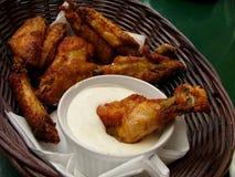 Piedini di pollo fotografie stock