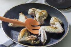 Piedini di pollo Fotografia Stock