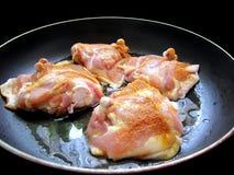 Piedini di pollo Immagini Stock