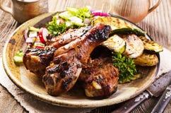 Piedini di pollo cotti Immagine Stock Libera da Diritti