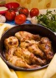 Piedini di pollo fritto Immagini Stock