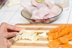 Piedini di pollo grezzi Immagine Stock Libera da Diritti