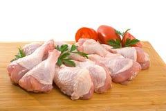 Piedini di pollo grezzi freschi Immagini Stock Libere da Diritti